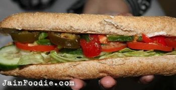 Jain Veggie Delight Subway