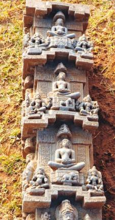 800 year old Jain Isncription Discovered at Aratipura, close to Mandya