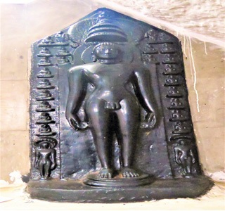 Jain Tirthankar idol at Hanamkonda