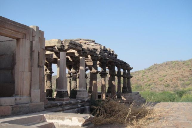 A part of the temple complex.