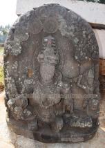 Idol of Yakshi Kushmandini Devi. - Photo by HPN@JHC