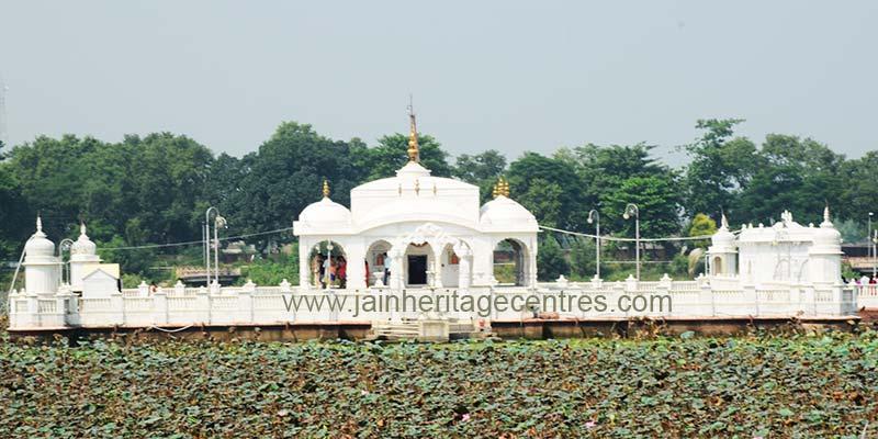 Jal Mandir at Pavapuri, Bihar.