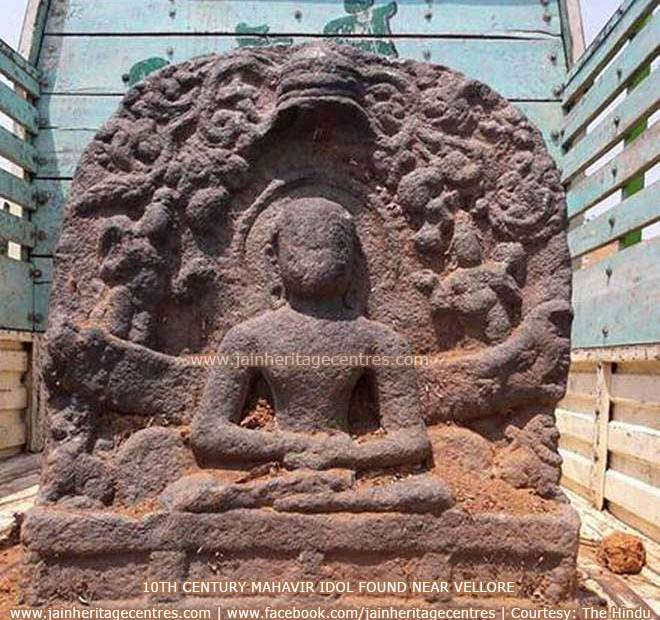 10th century Mahavir idol found near Vollore