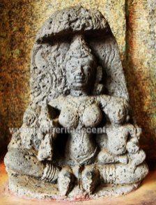 Ancient idol of Yakshi kushmandini, also called as Ambika.