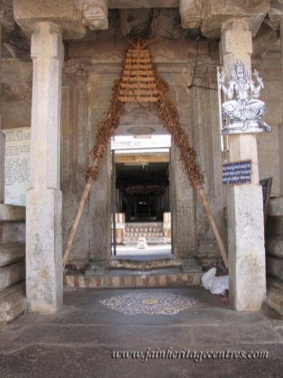 Shravanabelagola-Town-Bhandari-Basadi-Jain-Temple-0007