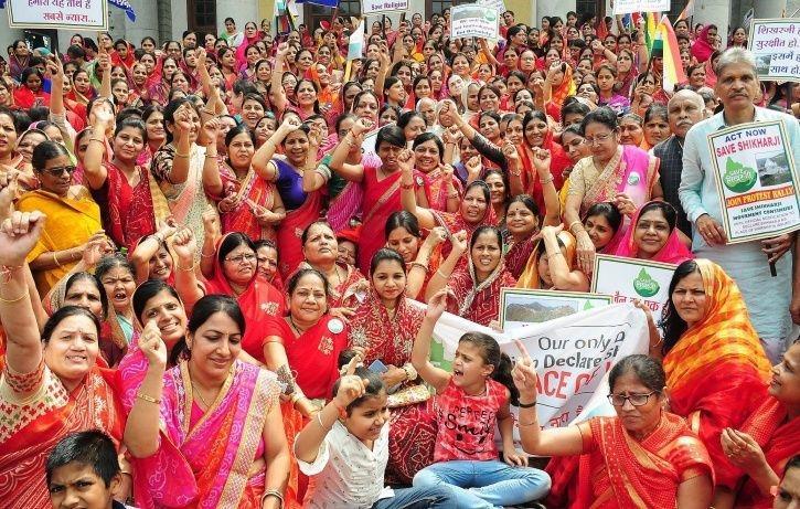 Save Shikarji campaign to save the Jain Pilgrim site, Sammedha Shikarji, Jharkhand.