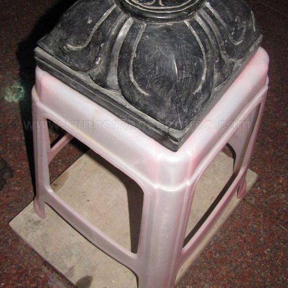 bali Peetha at Sri Suvarna Parshwanath Swamy Digambar Jain temple at Rajarajeshwarinagar, Bengaluru.