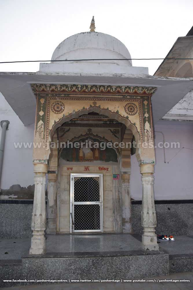 Entrance of Kanch Mandir.