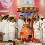 A Pontiff should Purify the society along with self-purification - Charukeerthi Swamiji