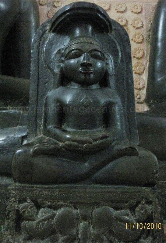 Padmasana idol of Tirthankar Parshwanath