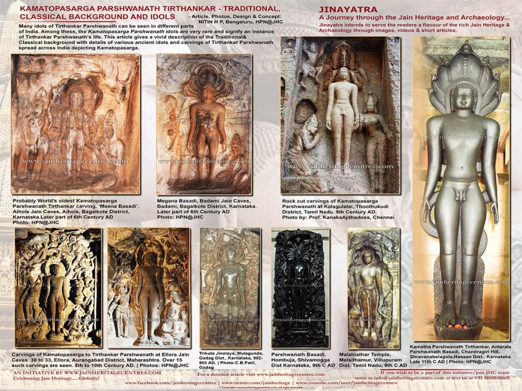 Kamatopasarga Parshwanath Tirthankar – Traditional, Classical Background and Idols