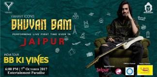 Bhuvan Bam in Jaipur