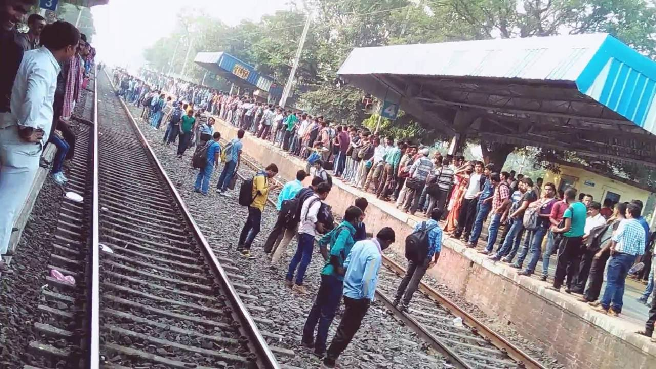 children run over by a train