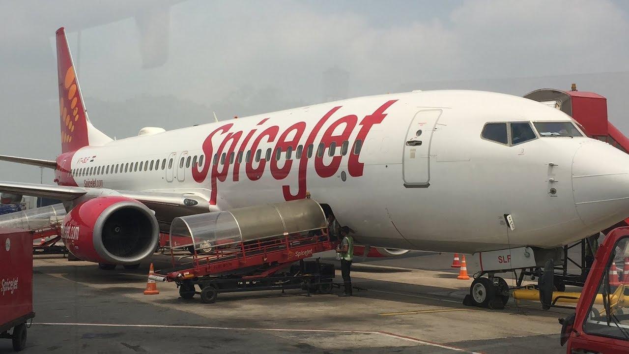 Spicejet flight from Jaipur to Kangra