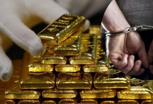 Gold smuggling through Jaipur airport