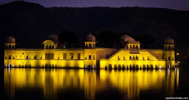 Evening at Jal Mahal