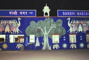 Gandhinagar Railway station in Jaipur