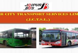 public transport buses for travel convenience in Jaipur