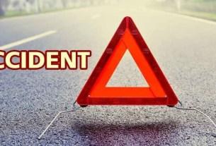 road accident on JLN Marg