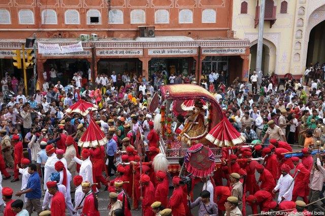 Teej Procession