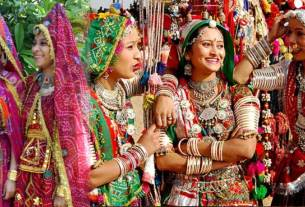 Traditional Rajasthani dresses for men and women