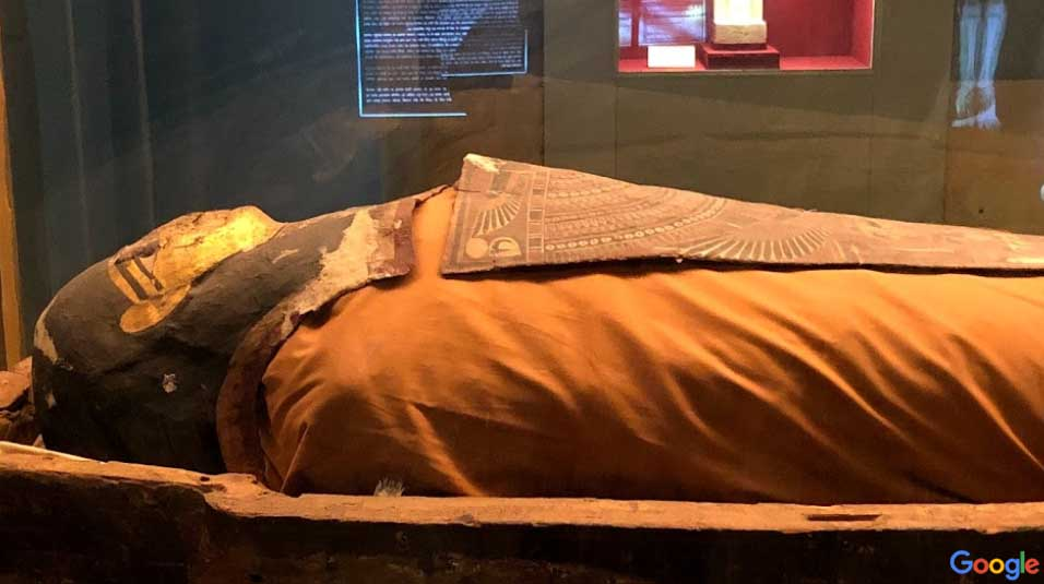 Mummy in Jaipur museum