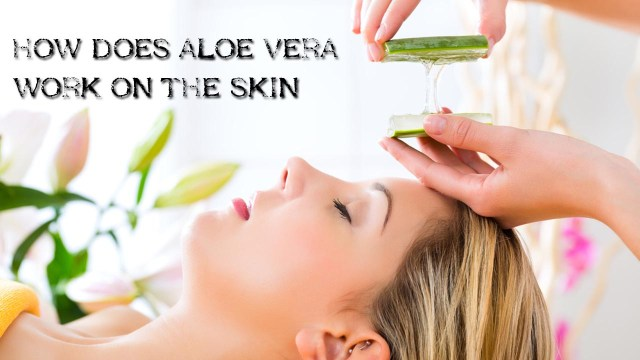 Benefits of Aloe Vera Work on Skin