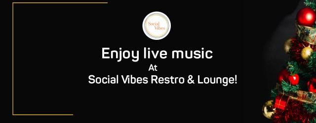 Social Vibes Retro Lounge christmas event