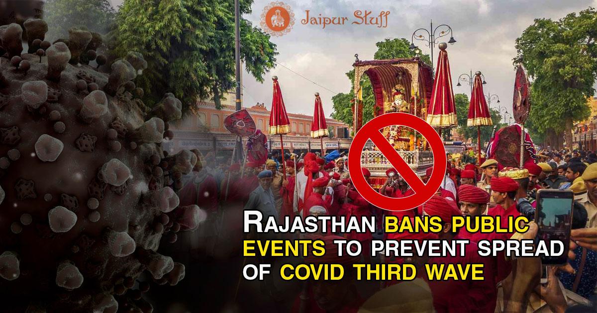Rajasthan-bans-public-event