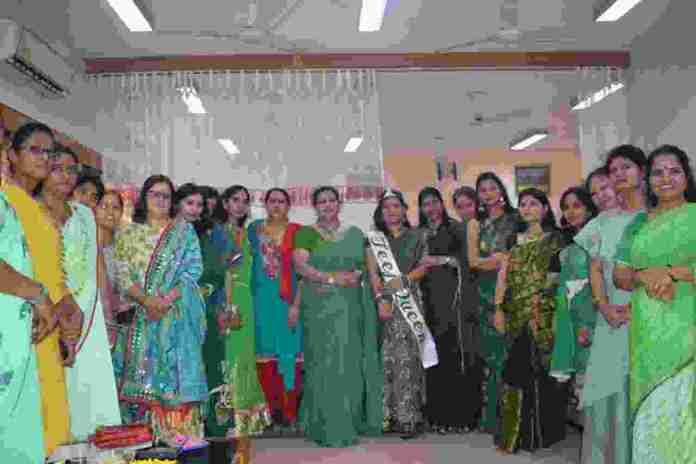 बीएसएफ की 149 बटालियन में वृक्षारोपण के साथ मनाया तीज महोत्सव 3