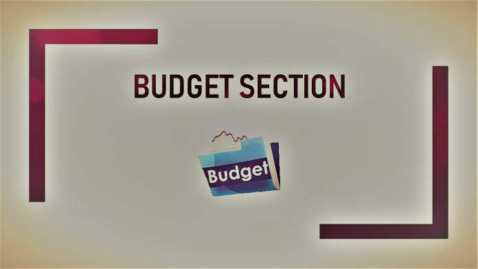 Budget Section