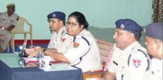 IPS Dr. Kiran Kang Siddhu Jaisalmer Police SP Meeting With Policeman