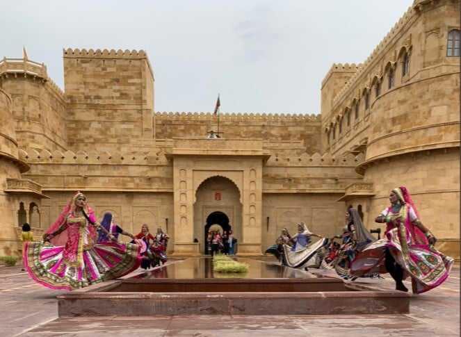 Folk Dance Suryagarh Hotel Jaisalmer