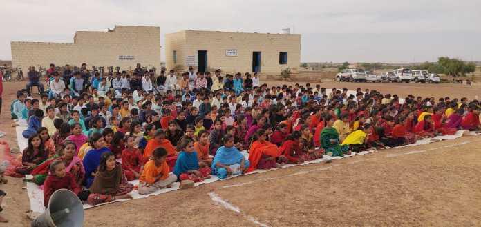 जिला कलक्टर ने छत्रैल स्कूल से किया जैसलमेर जिले में 'जल सुधा' नवाचार का आगाज 2