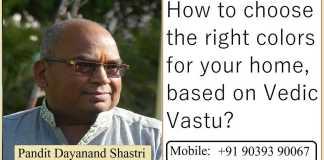 Pandit Dayanand Shastri Ji Vastu Colors Tips