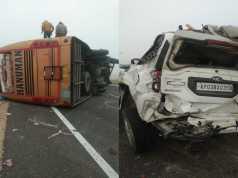 Road Accident jaisalmer jodhpur national highway today
