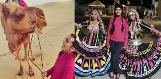 South Indian Actress Sindhu Loknath In Jaisalmer