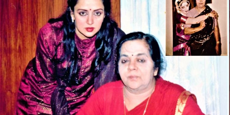 Hema Malini With Her Mother Mothers Day Photo