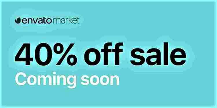 Envato Market Sale 2021