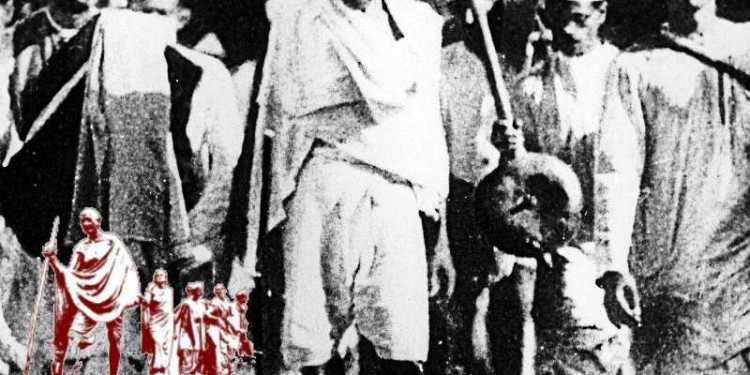 Mahatma Gandhi speech before Dandi March