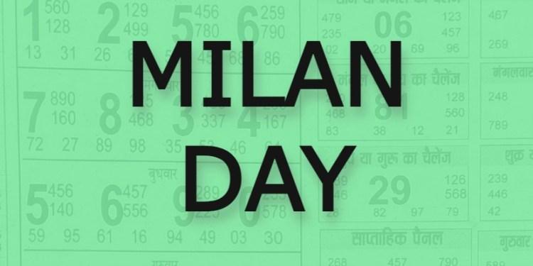 Satta Matka milan Day Chart Result