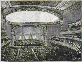 The Hall on Opening Night, May 5, 1891