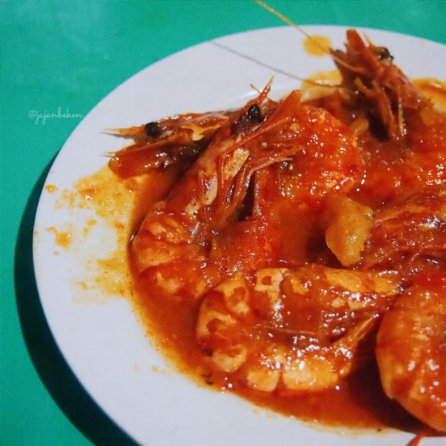udang saos padang seafood ayu