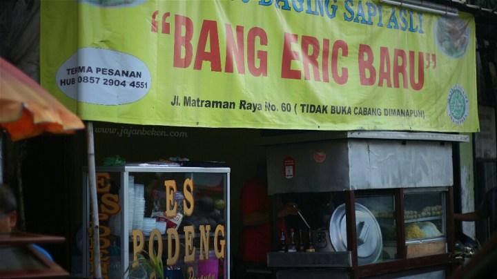 jajanbeken tempat makan bakso di jakarta pusat bakso daging sapi bang erik gramedia matraman
