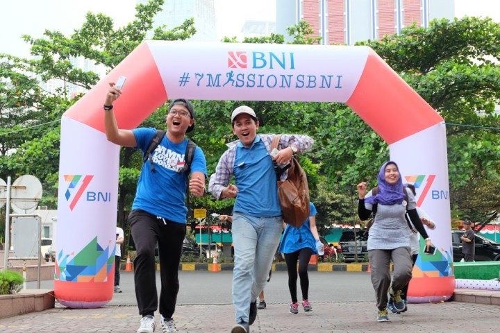 jajanbeken 7 missions bni 2017 first finish