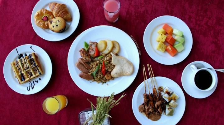 jajanbeken resinda hotel karawang oryza restaurant