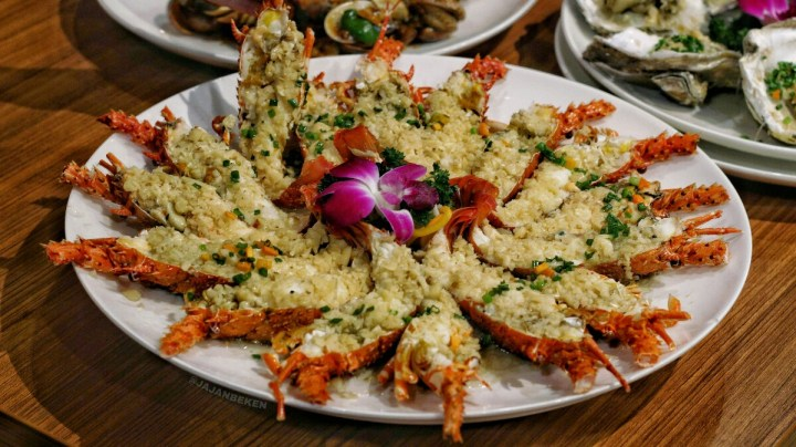 jajanbeken bali fish market restaurant