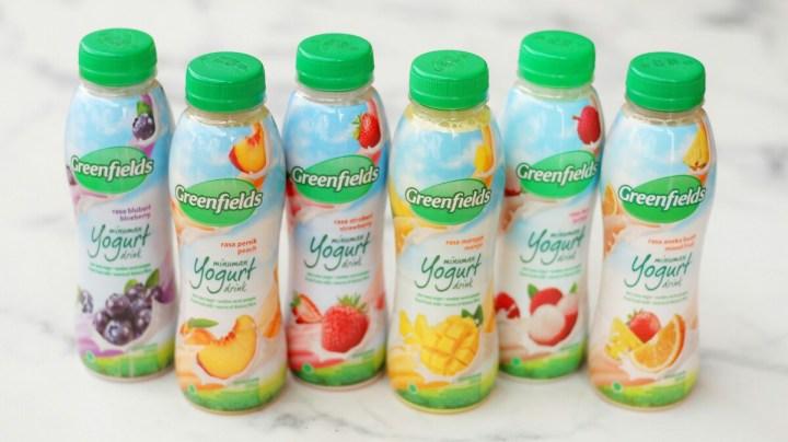 jajanbeken greenfields yogurt drink 250 ml