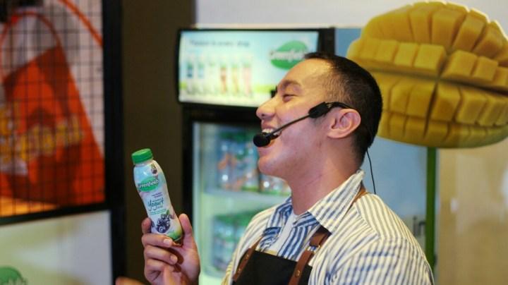 jajanbeken greenfields yogurt drink greenfields indonesia