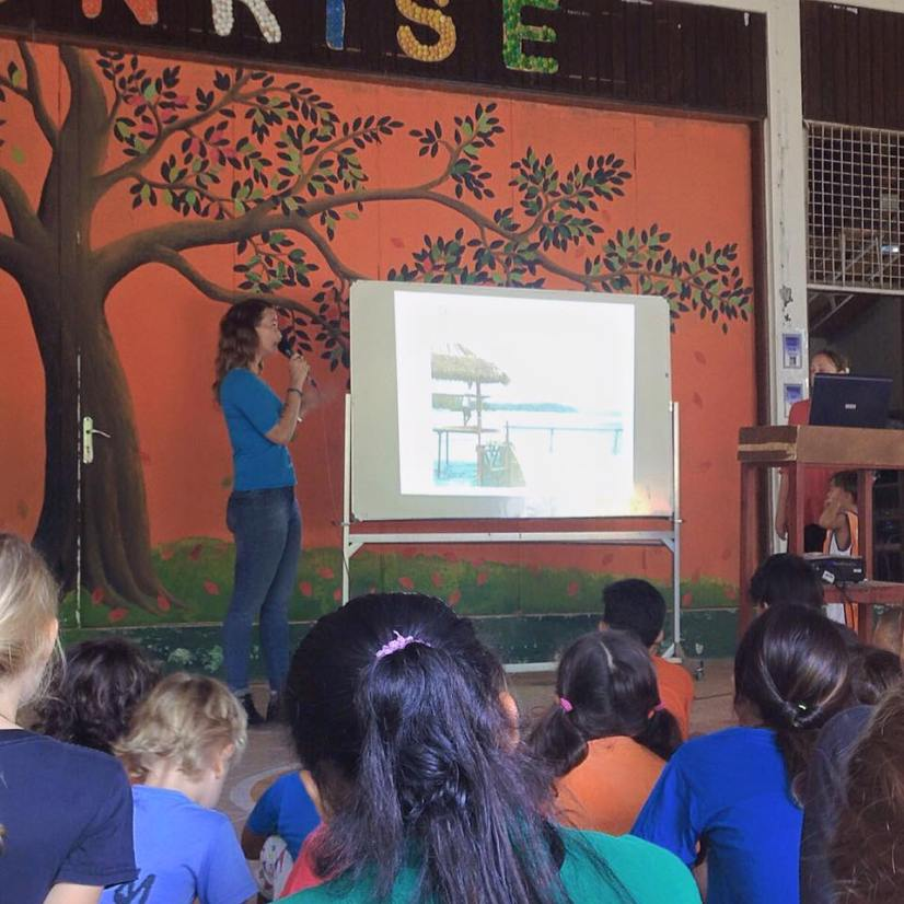 When we started an Educational Tour in Bali! To teach kids about animal welfare. We presented at Sunrise School. It's an amazing school where animal protection and recycling really matters!